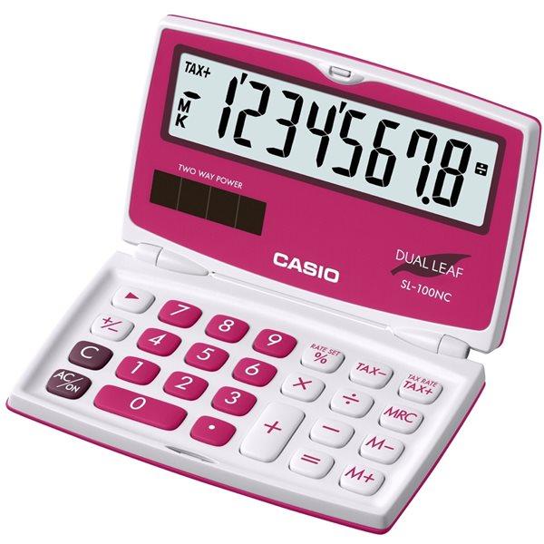 Casio Kalkulačka SL 100NC RD - červená