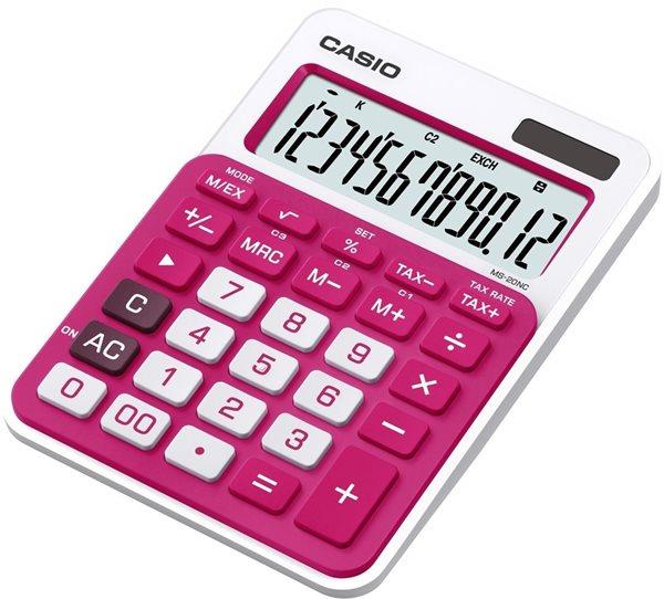 Casio Kalkulačka MS 20NC RD - červená