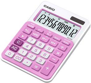 Casio Kalkulačka MS 20NC PK - růžová