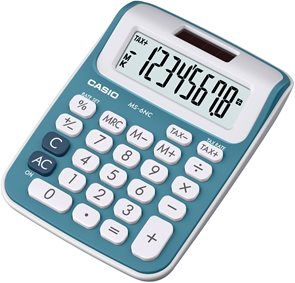 Casio Kalkulačka MS 6 NC BU - modrá