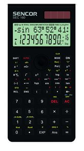 Kalkulačka Sencor SEC 160 WE - bílá