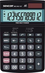 Kalkulačka Sencor SEC 343/12T