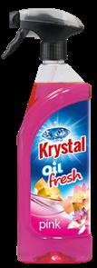 KRYSTAL olejový osvěžovač s rozprašovačem - růžový 750 ml