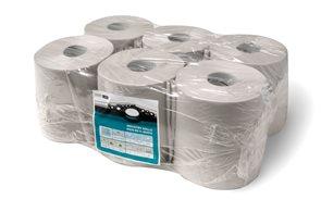 Smartline Maxi papírové ručníky v roli 2 vrstvé - šedé ( 6 rolí )