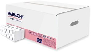 Z-Z ručníky Harmony Professional 2 vrstvé - bílé (157 ks x 20 bal )