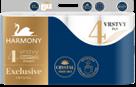 Harmony Exclusiv Crystal Perfumes toaletní papír 4 vrstvý - 8 ks