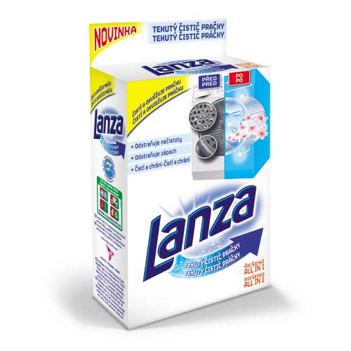 Lanza Tekutý čistič pračky 250 ml , Sleva 20%