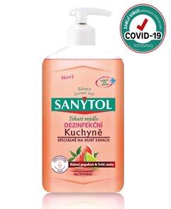 Sanytol dezinfekční mýdlo - do kuchyně 250 ml
