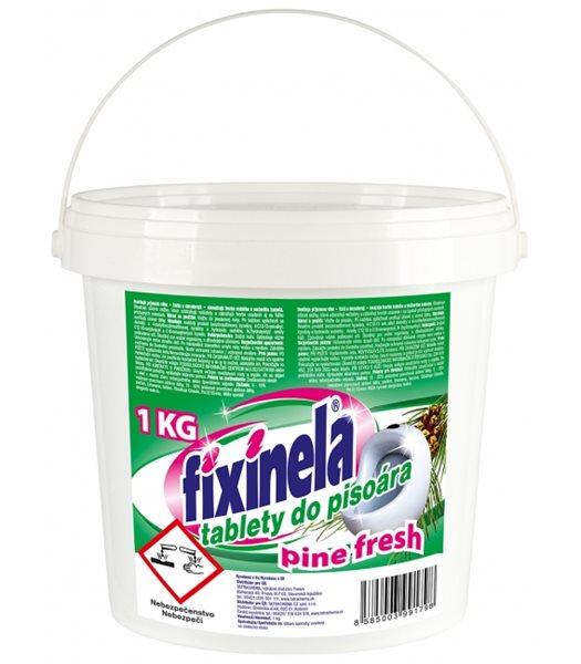 Fixinela tablety do pisoárů  - pine fresh - 1 kg