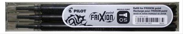 Pilot FriXion POINT Náplň do rolleru sada 3 ks - černá