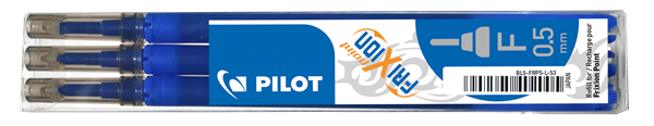 Pilot FriXion Point Náplň sada 3 ks - modrá