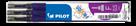 Pilot FriXion Point Náplň sada 3 ks - fialová