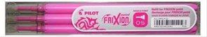 Pilot FriXion POINT Náplň do rolleru sada 3 ks - růžová