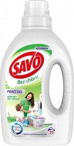 Savo gel na praní - barevné i bílé prádlo ( 20 dávek )