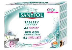Sanytol tablety do myčky 4 v 1 (40 ks)