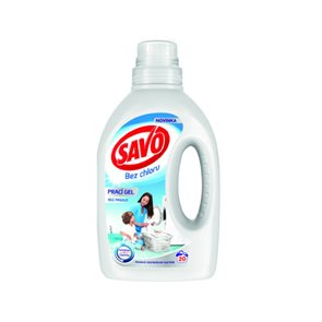 Savo gel na praní - bílé prádlo 20 dávek