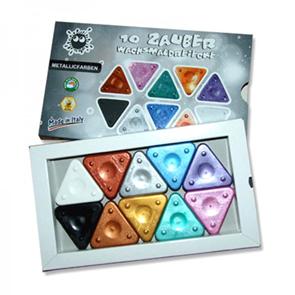 Magická voskovka - 10 barev - metalické