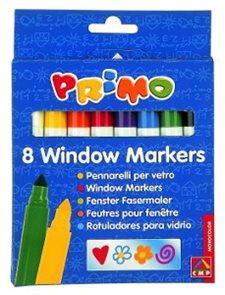 Primo Popisovače na sklo - 8 barev