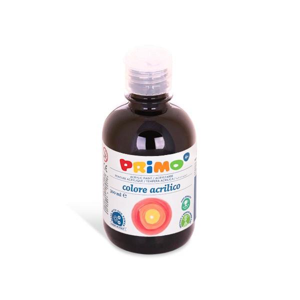 Primo Akrylová barva Acrilica 300 ml - černá, Sleva 20%