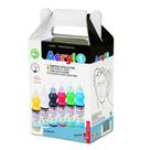 Akrylové barvy Primo - sada 6 x 80 ml