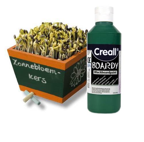 Creall Tabulová barva 250 ml - zelená