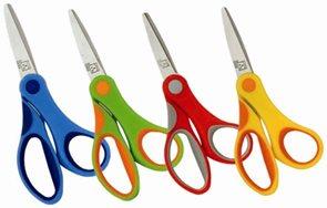 Spoko Školní nůžky 0532 studentské 18 cm - mix barev
