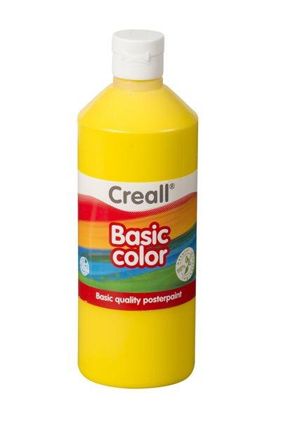 Temperová barva Creall 500 ml žlutá