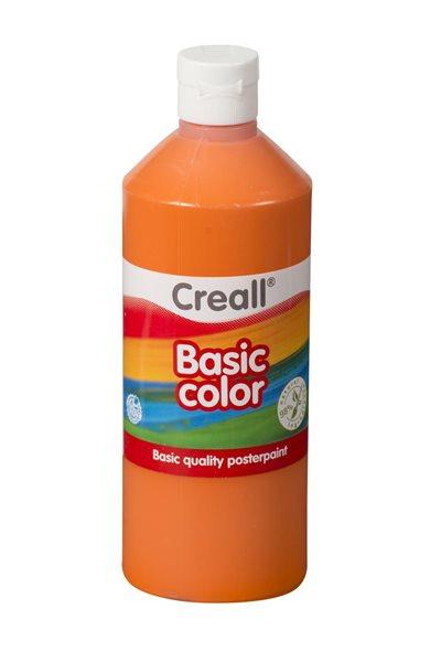 Temperová barva Creall 500 ml oranžová