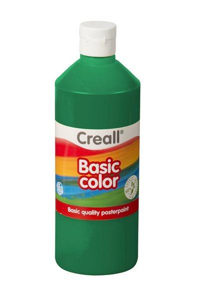 Temperová barva Creall 500 ml tmavě zelená