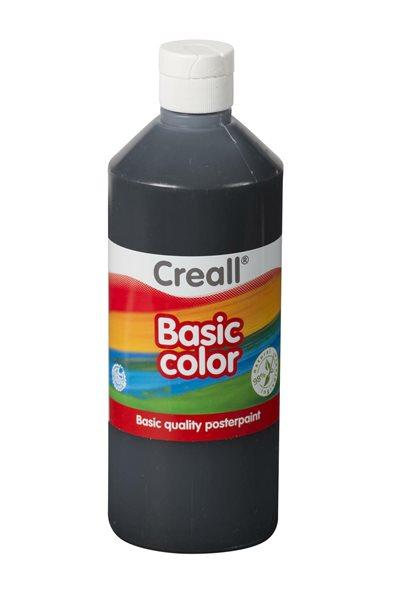 Temperová barva Creall 500 ml černá