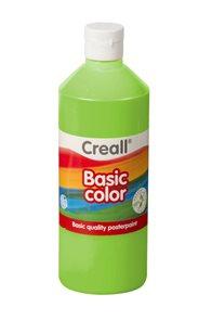 Temperová barva Creall 500 ml - světle zelená
