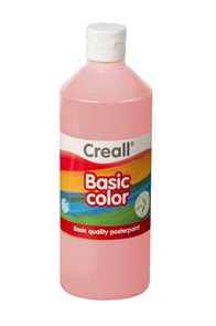 Temperová barva Creall 500 ml - růžová