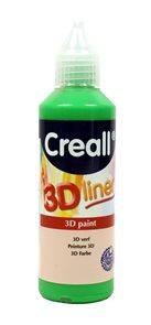 Barva 3D Liner, 80 ml, zelená Creall