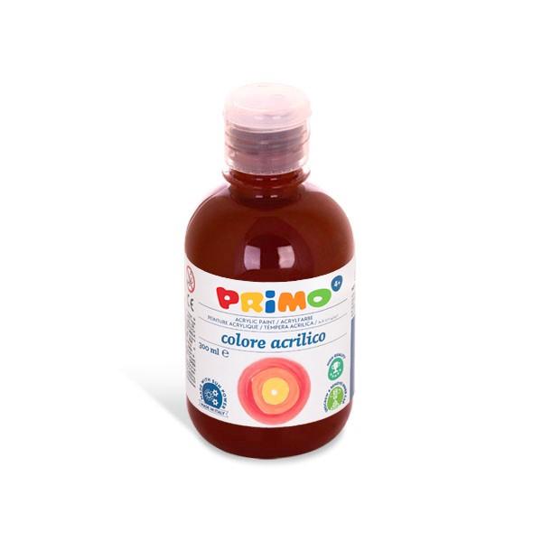 Primo Akrylová barva Acrilica, 300 ml - tmavě hnědá, Sleva 20%