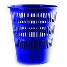 Donau Odpadkový koš perforovaný PP 16L - modrý