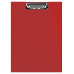 Donau Uzavíratelné desky s klipem A4 PP - červené