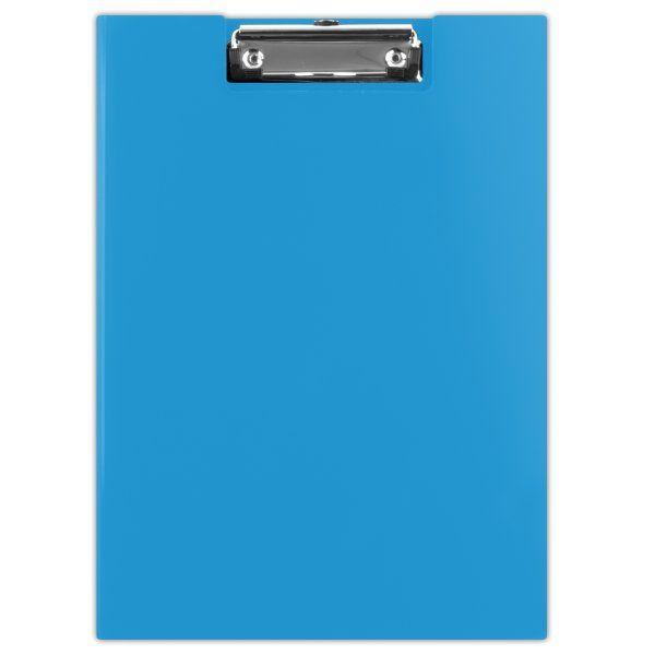 Donau Uzavíratelné desky s klipem A4 PP - modré