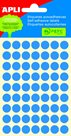 APLI Samolepicí etikety v sáčku 10 mm - modré