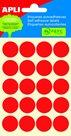 Apli Samolepící etikety v sáčku 19 mm - červené
