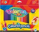Trojhranné pastelky Colorino JUMBO - 18 barev + ořezávátko