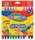 Olejové pastely Colorino, trojhranné - 24 barev