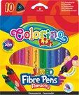 Fixy Colorino JUMBO trojhranné - 10 barev