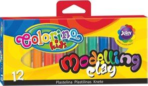 Modelovací hmota Colorino - 12 barev
