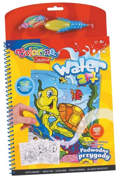 Vodní omalovánky - Svět pod vodní hladinou