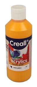 Akrylová barva Creall 250 ml - teplá žlutá