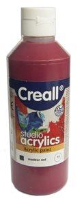 Akrylová barva Creall 250 ml - divoce červená
