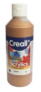 Akrylová barva Creall 250 ml - bronzová