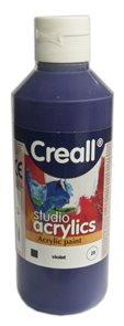 Akrylová barva Creall 250 ml - fialová