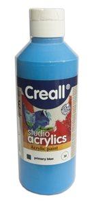 Akrylová barva Creall 250 ml - světle modrá