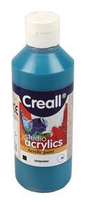 Akrylová barva Creall 250 ml - tyrkysová